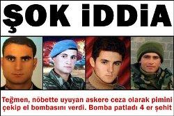 Продължават извънредните произшествия в турската армия.