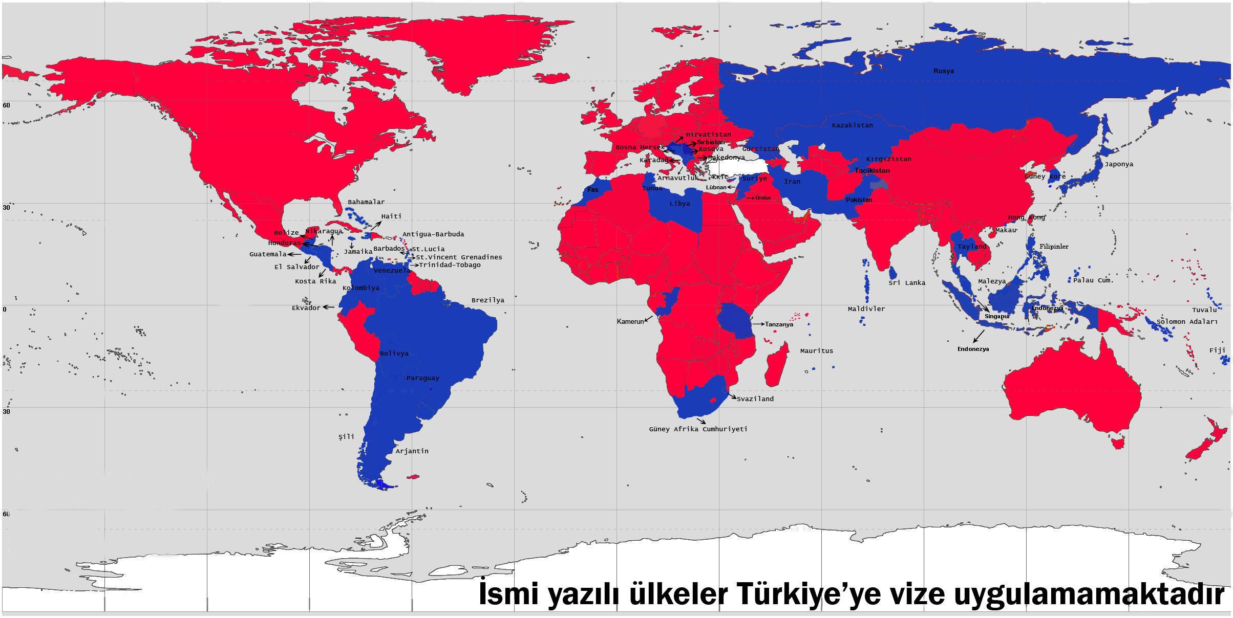 Türkiye ile sırbistan arasında imzalanan vize uygulamasının